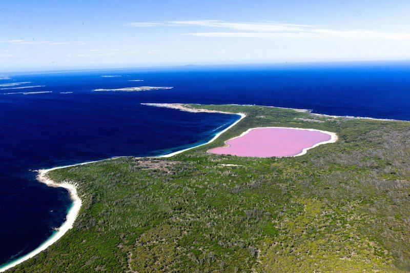 5 Lake Hillier, Australia1